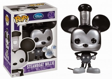 "9"" Steamboat Willie Funko Pop!"