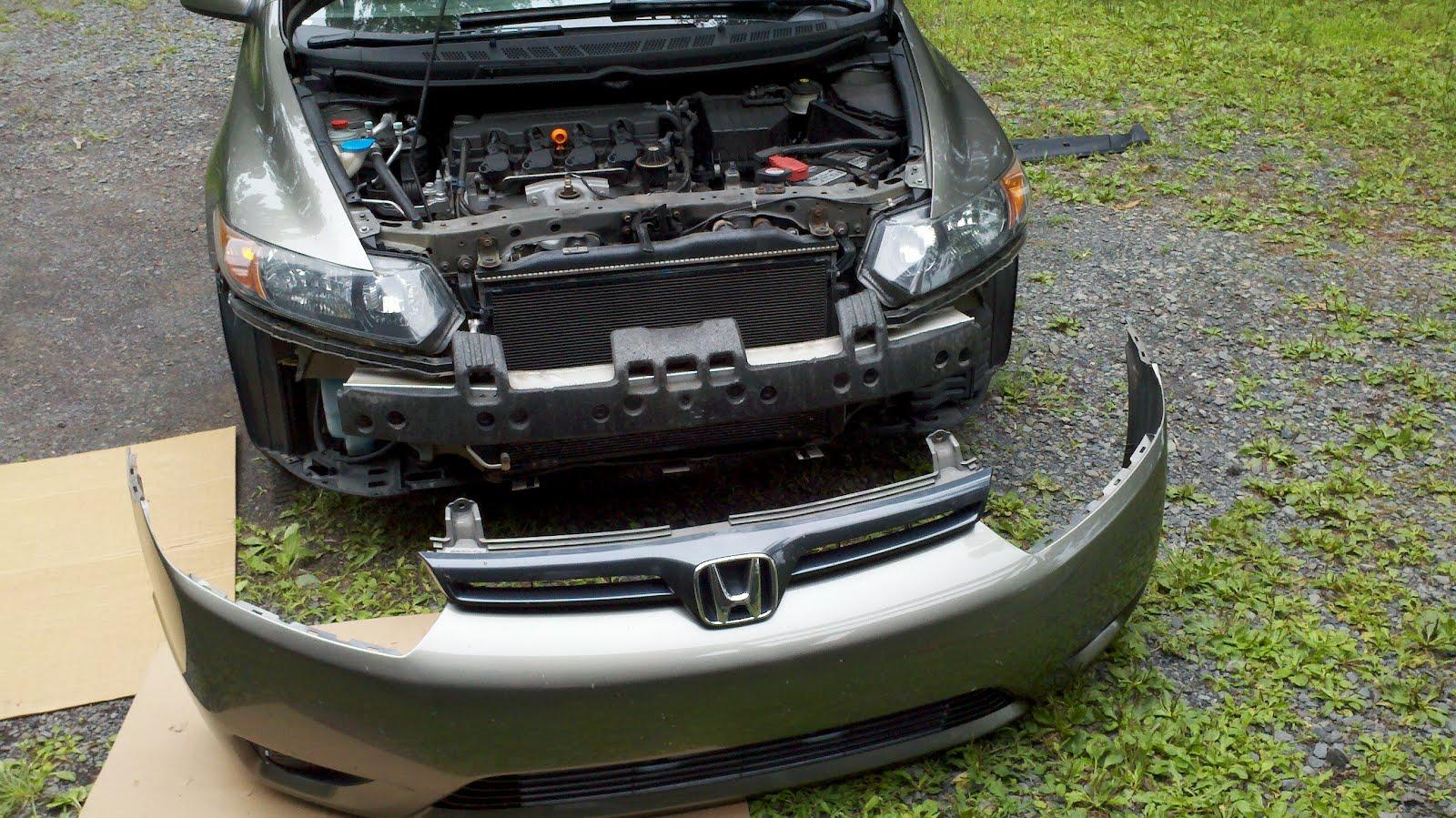 2006 Honda Civic Fog Light Install | CF Customs