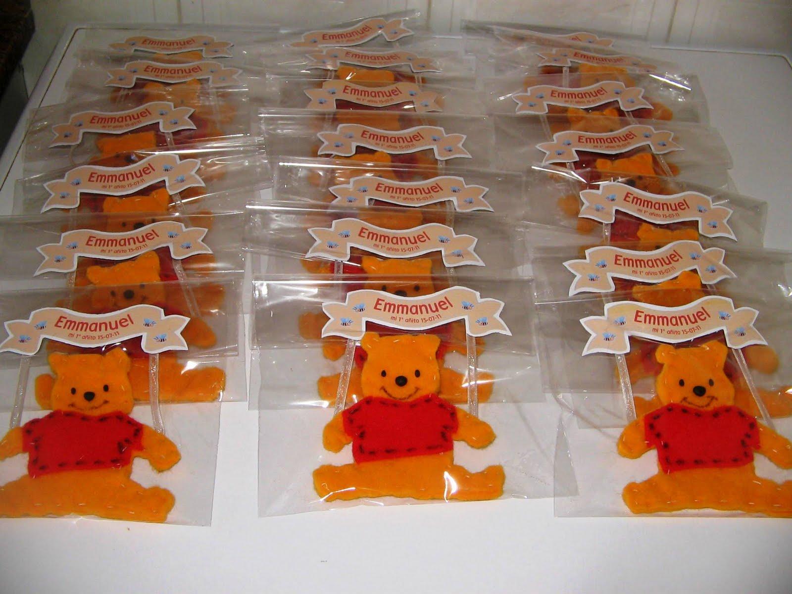 EVA Diseño y Gastronomía: Cumpleaños Winnie pooh