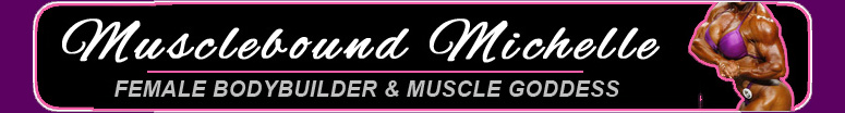 Phone Sex with Female Bodybuilder & Muscle Goddess Musclebound Michelle!