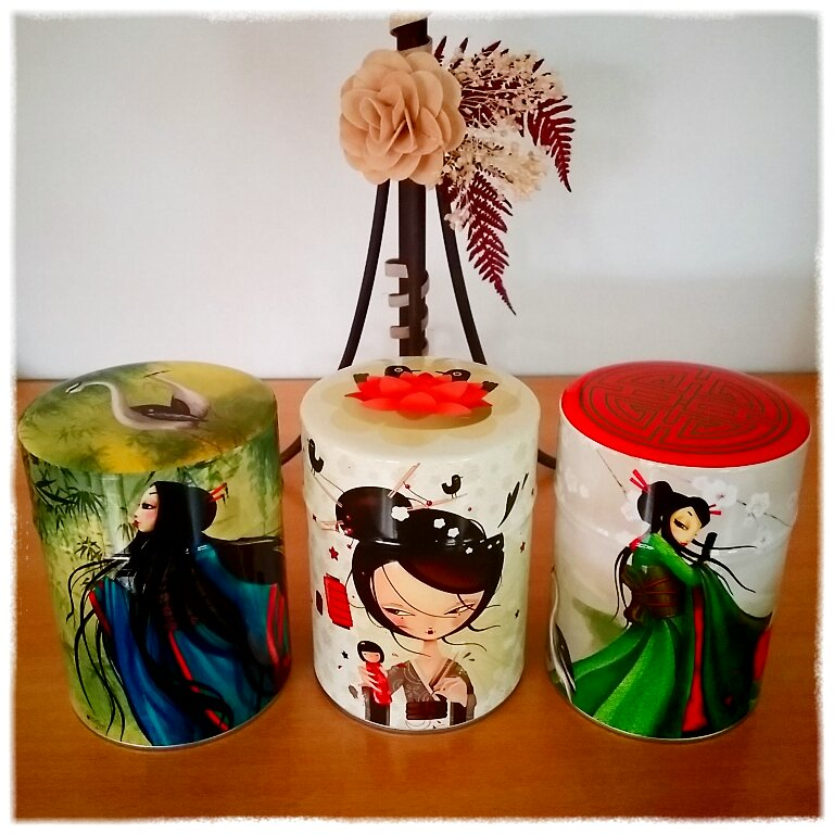 Tea Box Tea Lover Tea Addict Coup de coeur Geisha Misstigri Candybird