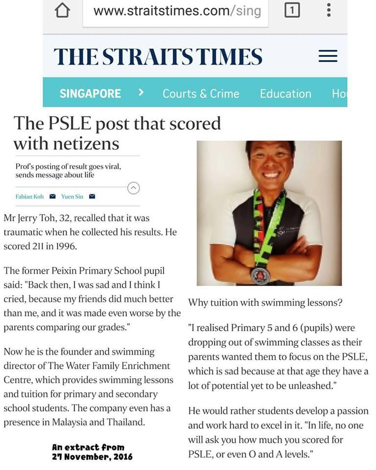 The Straits Times, 27 November 2016