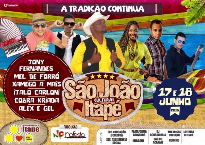 SÃO JOÃO DE ITAPÉ