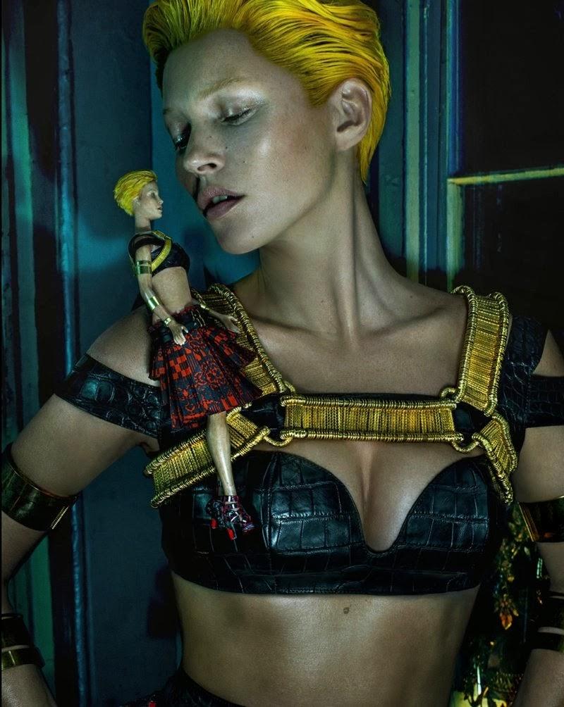 Kate Moss por Steven Klein para Alexander McQueen