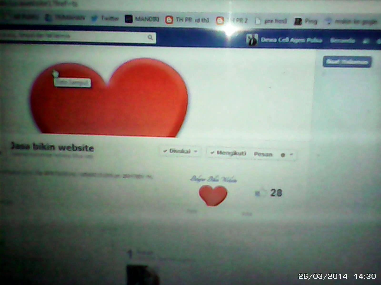 panduan cara membuat halaman facebook