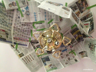http://oilandblue.blogspot.com/2015/07/before-after-update-brass-ceiling-fan.html