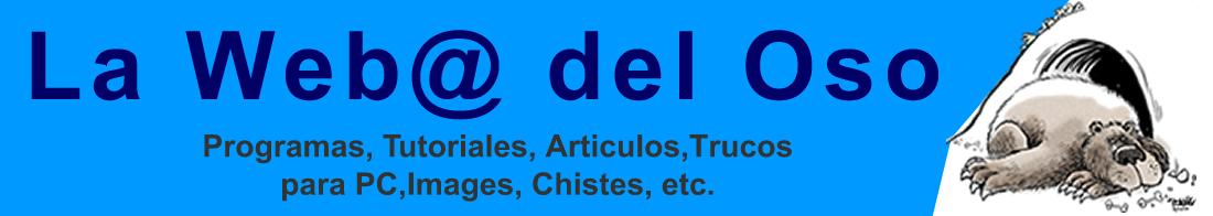 LA WEB@ DEL OSO