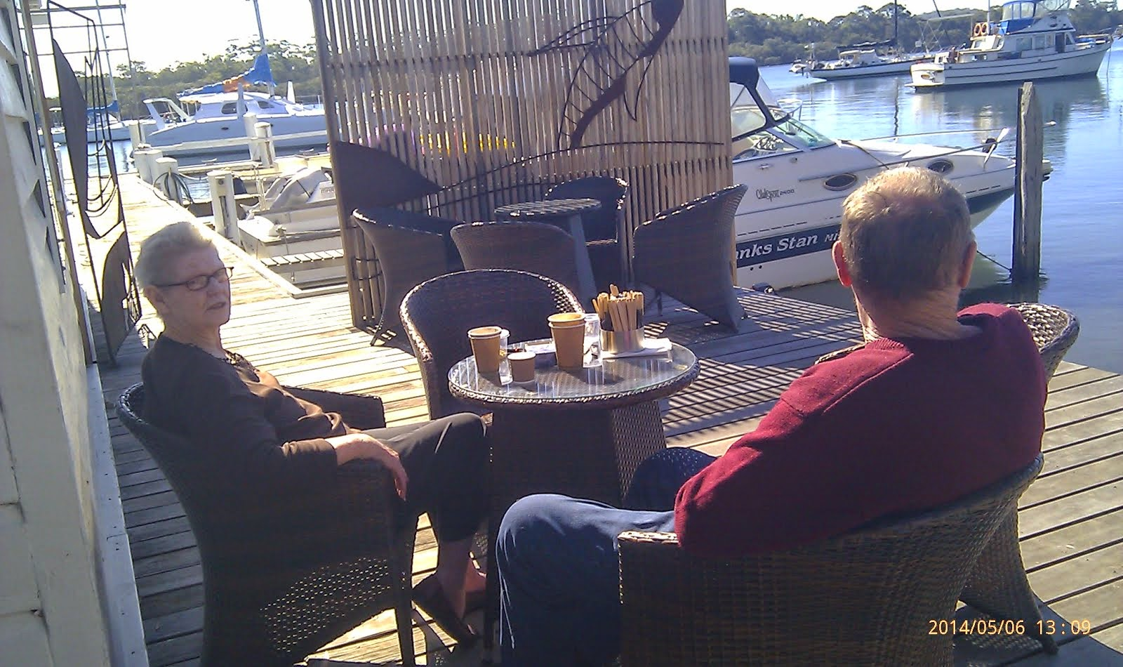 Coffee at Dunbogan Boatshed