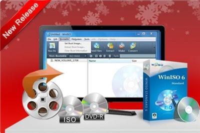 WinISO Standard 6.3.0.4863 برنامج لعمل الاسطوانات الوهمية في آخر إصدار