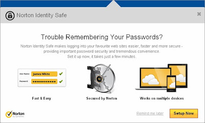 Norton Internet Security 2013 - Norton Identity Safe