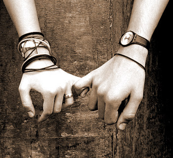 Las Imagenes de Amor Imagen de amistad en blanco y negro