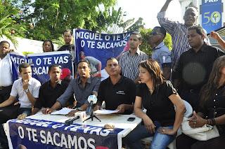En el PRD piden a gritos expulsión de Miguel