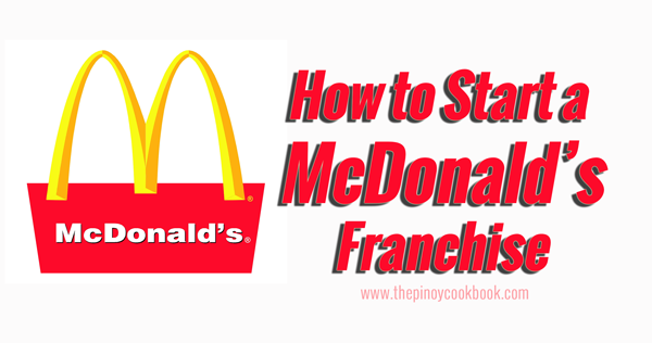 mcdonalds franchise A franchise agreement is a legal, binding contract between a franchisor and  franchisee in the united states franchise agreements are enforced at the state.