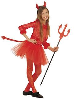 Halloween Kostume Djævlepige