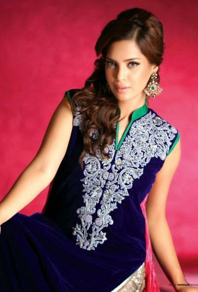 EmbroideredPartyWearDresses2014 wwwfashionhuntworldblogspotcom 05 - Embroidered Party Wear Collection 2014 By Sadaf Amir