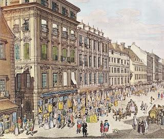 Calles de Viena, 1800