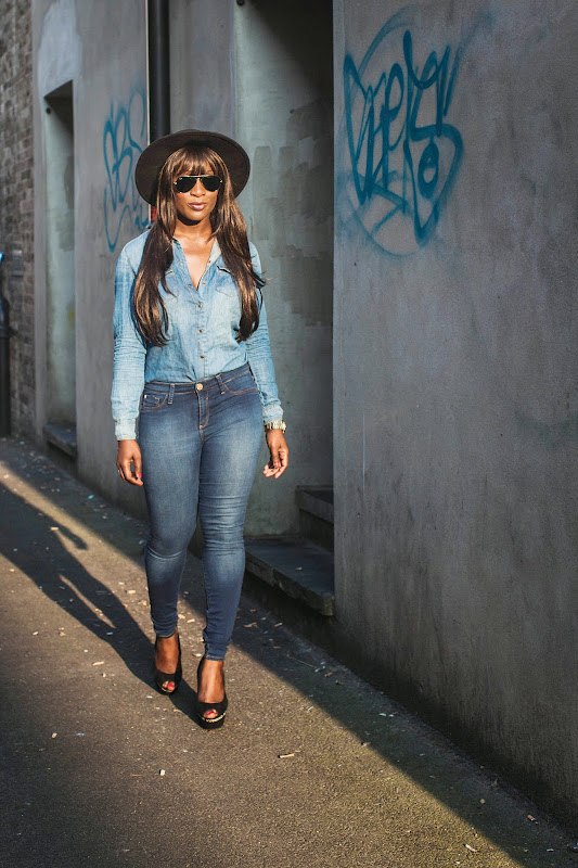 How to wear double denim