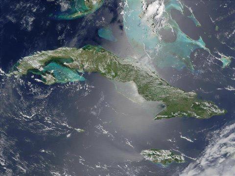 CUBA DESDE EL SATELITE