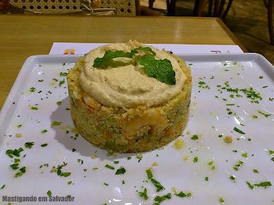 Farid Cozinha Árabe: Cuscuz Marroquino com Camarão