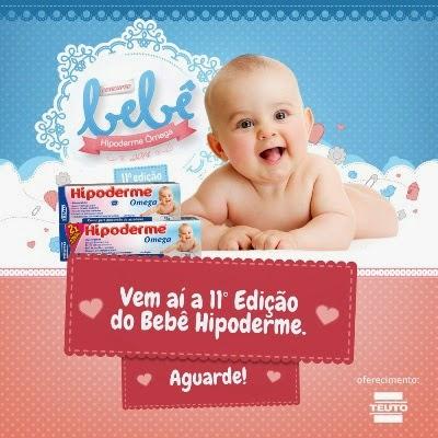 """Vem aí - A 11ª edição do """"Bebê Hipoderme""""."""