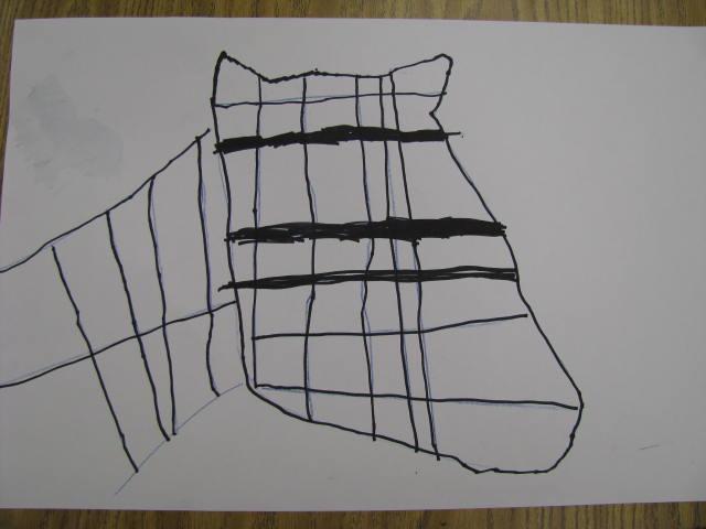 How To Make Straight Line Art : One happy art teacher kindergarten paints piet mondrian