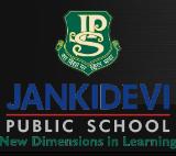 Jankidevi Public School Andheri West Logo