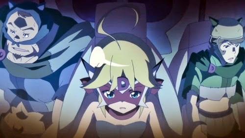 """""""A animação e fotografia são muito bonitas, mas não se poderia esperar menos de uma obra da Tatsunoko Pro"""""""