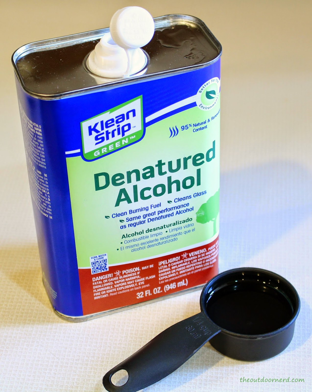 Denatured Alcohol for Brass Stove