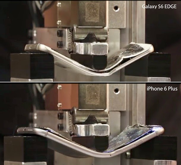Samsung Galaxy S6 Bend Test (Video)