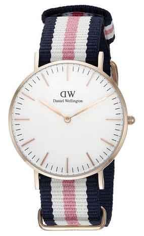 Daniel Wellington Damen-Armbanduhr Analog Quarz