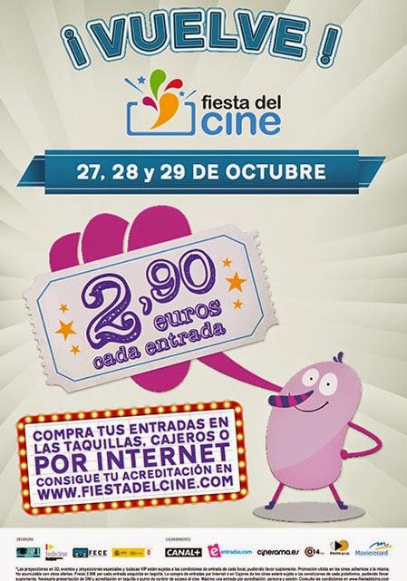 Fiesta Del Cine (27, 28 y 29 de octubre)