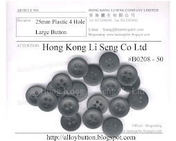 4 Hole Plastic Large Button Supplier - Hong Kong Li Seng Co Ltd
