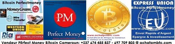 Achat Bitcoin Perfect Money Monaie Electronique Au Cameroun