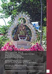 Programa Oficial de Actos y Cultos PROCESIÓN 2013.