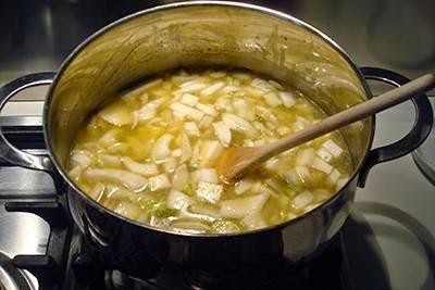 Vellutata di finocchi e patate 7