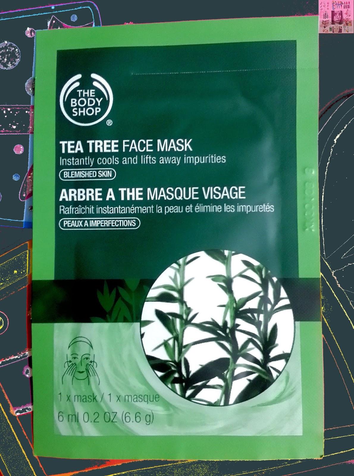 tea tree oil face mask
