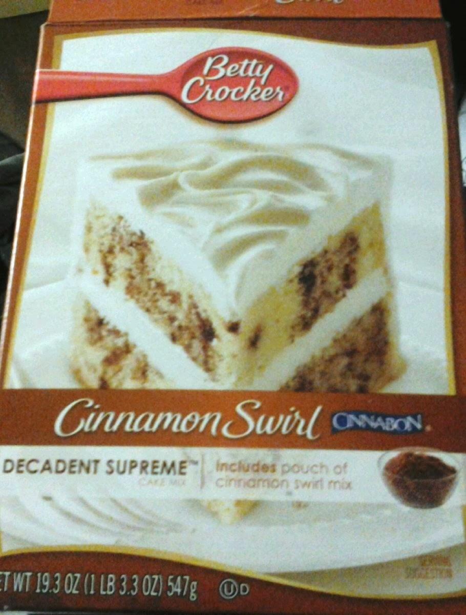 Cinnabon Cake Mix Betty Crocker