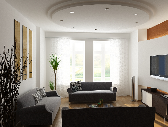 DOWN MODEL 3D FREE: Drawing room Ceiling Design for 2011