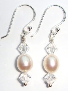 crystal earrings wedding