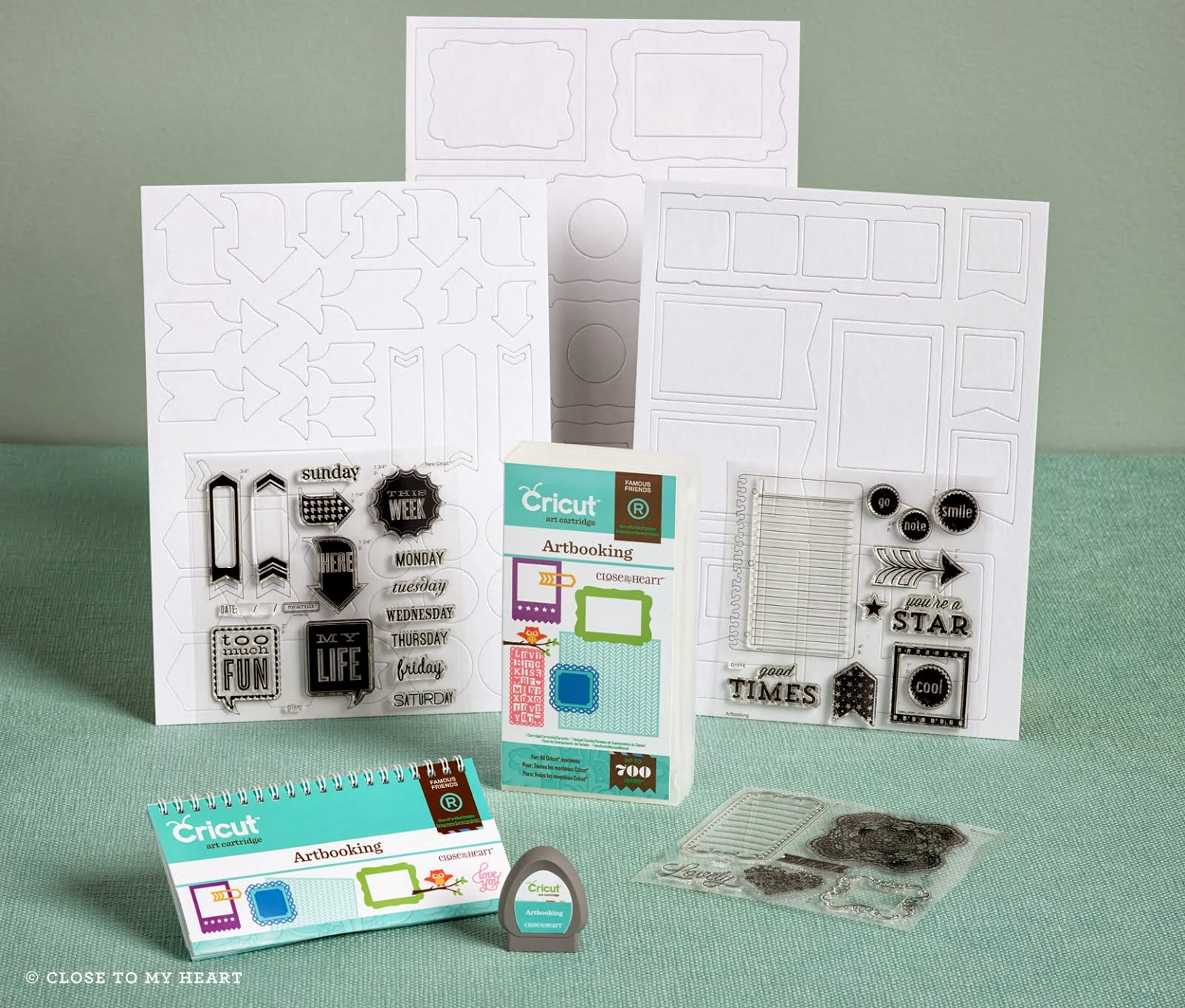 New  CTMH Exclusive Cricut Cartridge
