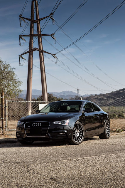 lowered audi A5
