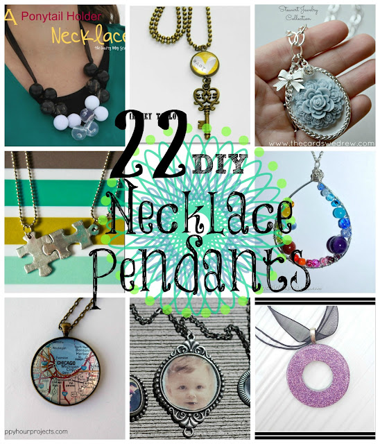 22 DIY Necklace Pendants