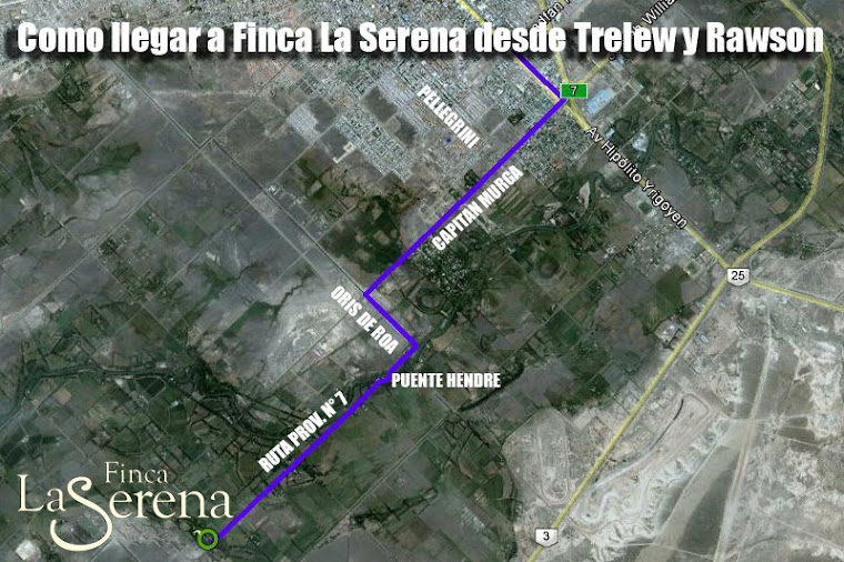 Como Llegar a Finca La Serena