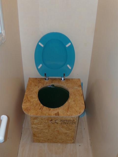 Vision des toilettes sèches