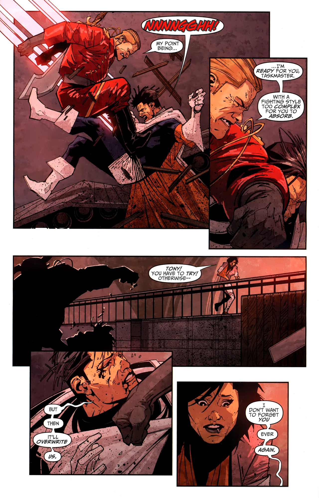 Read online Taskmaster (2010) comic -  Issue #4 - 16