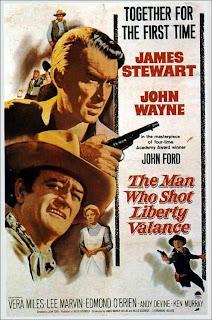 Cartel de El hombre que mató a Liberty Valance