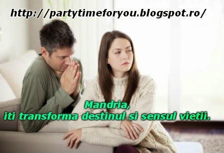 Mandria, iti transforma destinul si sensul vietii.