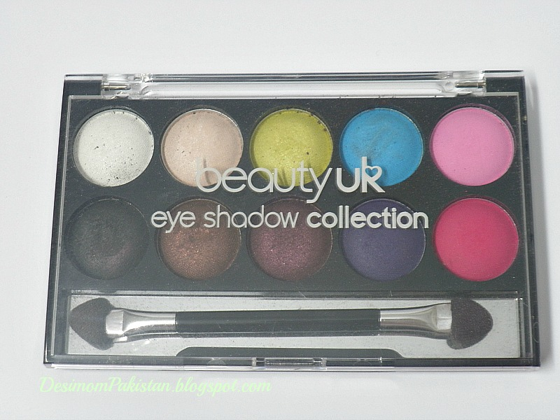 "BEAUTY UK EYESHADOW PALETTE ""DAY AND NIGHT"""