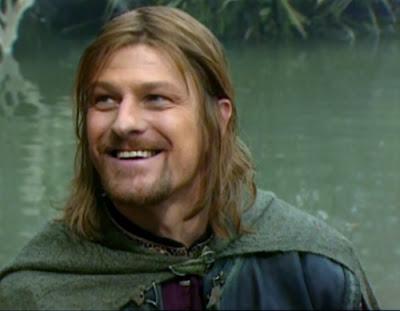 Sean Bean caracterizado como Boromir de el señor de los anillos - Juego de Tronos en los siete reinos