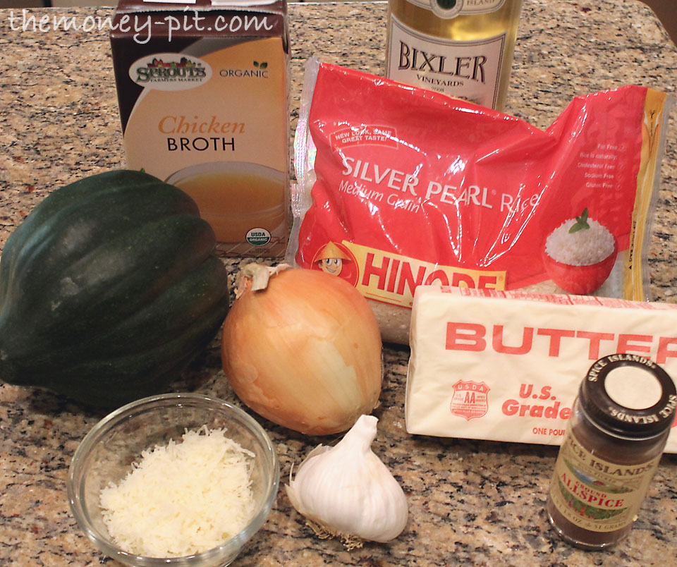 Butternut Squash Risotto with Parmesan and Allspice - The ...